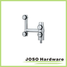 Glass Room Fitting Curve Pivot Hardware for Over Panel (EB001)