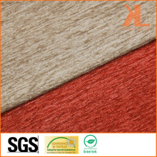 Polyester Home Textile Tissu ignifuge ignifuge de canapé Chenille ignifuge