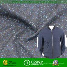 Corrosión agujero con tela poliester impresa para chaqueta de Men′s