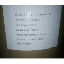 Polyvinylpyrrolidone, Povidone, Pvp K90/K30/K17 USP26/USP38/Cosmetic Grade