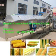Máquina de blanqueamiento de maíz / máquina de blanqueado de verduras