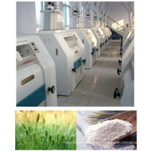 Fábrica do moinho da farinha do trigo de 100-500tpd / máquina de moedura da farinha