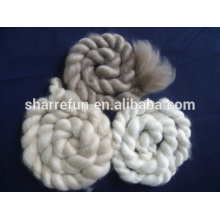 100% wool/Cashmere Tops texile fibre