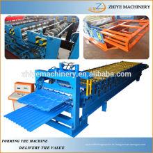 Hojas de techos de doble capa Cold Roller Former Line Professional Fabricante