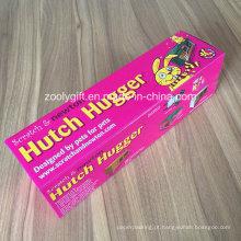 E-Flute Corrugated caixa de impressão ondulado caixa de embalagem dobrável para Hutch Hugger