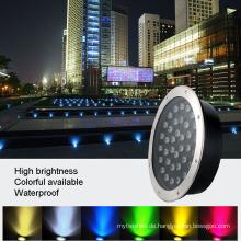 Wasserdichte unterirdische LED begrabenes Licht