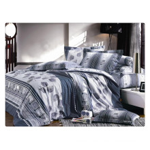 100% cotton 40s 128*68 pigment printing luxury bed sheet