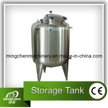 Ss304, 1000L, réservoirs de stockage en acier inoxydable à double couche