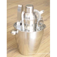 Stainless Steel Cocktail Shaker Set (CL1Z-I001)