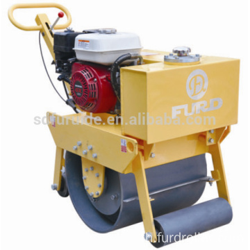 Smooth Wheel Mini Single Drum Asphalt Vibratory Road Roller Compactor FYL-450