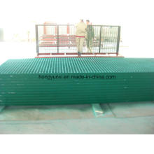 Pultruded Fiberglass Gratings as Cover or Platform or Pavement