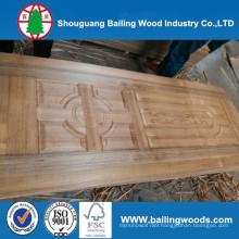 2.7mm 3.6mm Engineered Veneer Red Oak Veneered Plywood or Door Skin