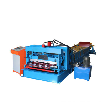 Glazed Types Of Roof Tiles Making Machine