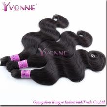 Remy brésilien de cheveux humains en vrac (HT2-HD-BH3A-BW)
