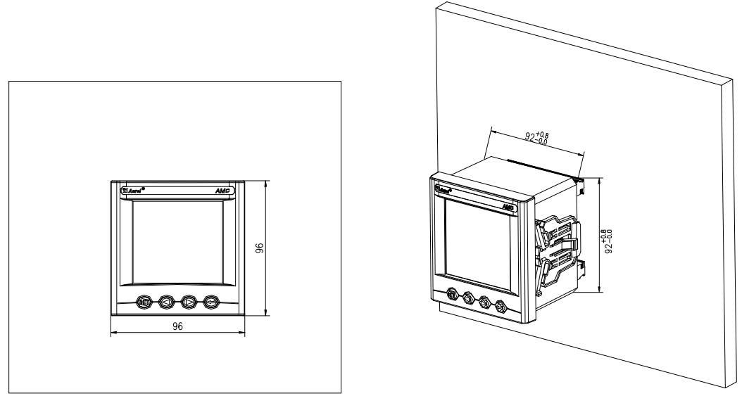 ac power panel meter