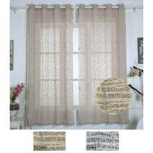 Rideau en polyester pour rideaux en dentelle