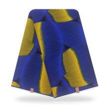 Wholesale cotton real ankara fabric african wax printed fabric 6 yards or 12yards school uniform dress fabric