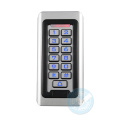 door access control system supports unlocking apartment luminous keypad metal access control alarm villa