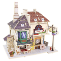 3D Wooden Model DIY Mini House Toy