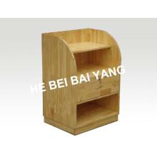 Armário de cabeceira de madeira de melhor qualidade C-93 para uso hospitalar