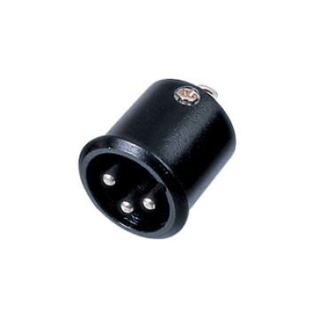 XLR Connector for VCD and Video