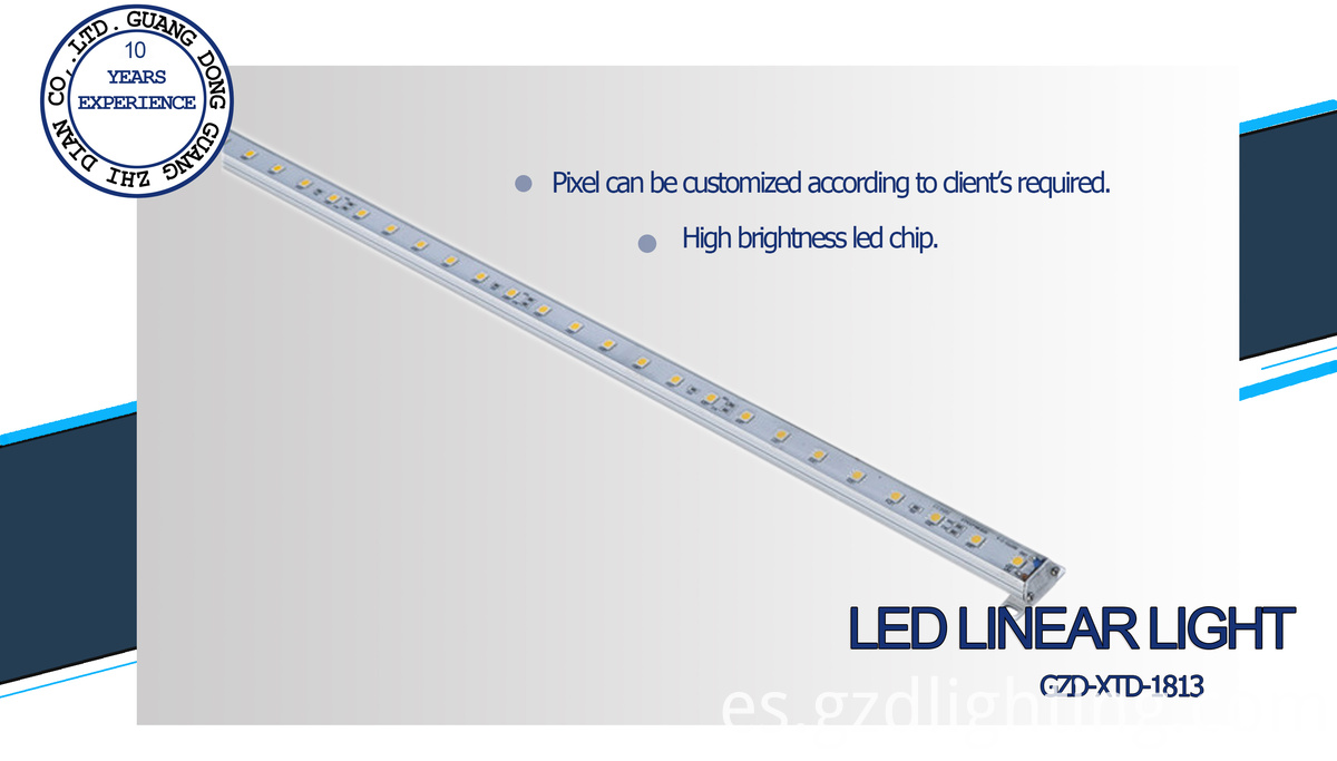 outdoor led line lamp