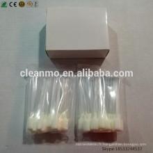Écouvillons de Snap d'alcool du fabricant chinois 99,9% IPA pour le nettoyage de tête d'impression