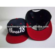 custom 3d embroidery snapback cap