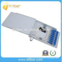 China factory supply FTTH plastic mini waterproof fiber optic terminal box
