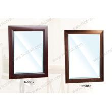 Novo espelho de parede de plástico para decoração de banheiro