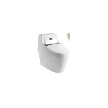 Une pièce commode plancher debout autonettoyant intelligent urinoir toilettes / salle de bains sanitaires en céramique WC Wc