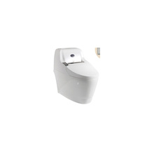 One Piece commode floor standing self-cleaning intelligent urinal toilet/ bathroom sanitary ware ceramic Wc toilet
