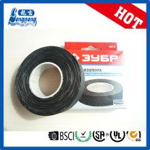 400 mic schwarzem Stoff Tuch Isolierband