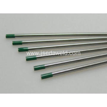 150mm WP Green Tungsten Electrode