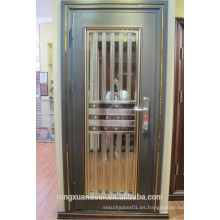 Puerta de acero inoxidable de seguridad, puerta de acero, puerta exterior