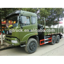 Dongfeng 6X6 off road military cargo truck for heavy duty loading