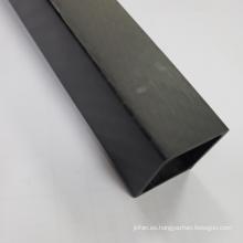En stock tubo de fibra de carbono completo de 16x14x1000mm 3k