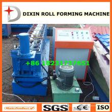 Ângulo e canal que faz a máquina