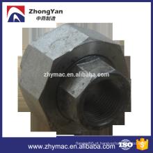 mercado União empresa ss304 ss316l aço inoxidável encaixe de tubulação da União