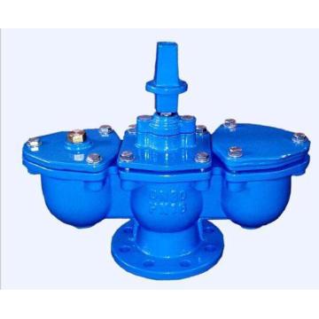 Válvula de aire con brida con esferas dobles
