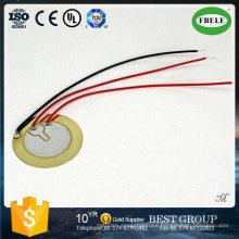 Hot Sell 35mm Piezo Ceramic Buzzer with Three Wire