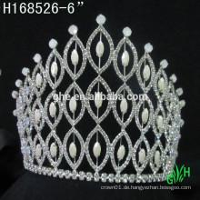 Neue Designs Strass Krone, Mode Braut Rhinestone Krone Festzug Tiara
