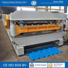 Machine de formage de rouleaux à double couche d'efficacité
