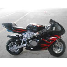 49cc Air Cooled Metal Pull Start Mini Pocket Bike (jy-pb001)