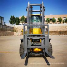 Chariot élévateur tout terrain diesel de 2 tonnes