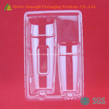 Blister package tray for cosmetic