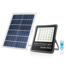 Projecteur solaire avec panneau solaire