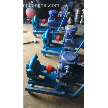 KCB mobile diesel transfer oil gear pump