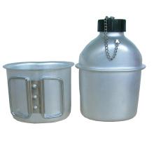 0.8L Al Military Water Bottle