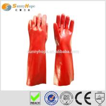 PVC getauchte Industrie Handschuhe